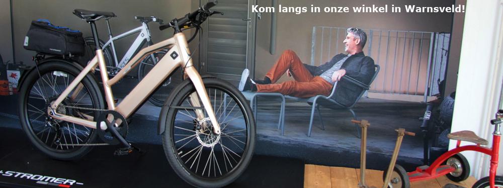 elektrische fietsen van Stenis