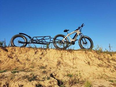 aanhanger elektrische fiets van Lynx