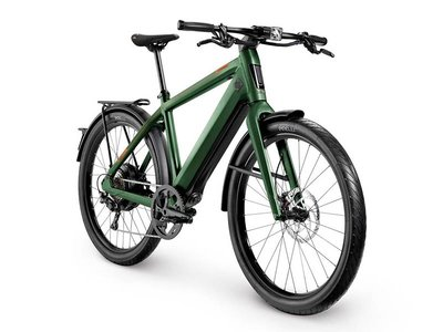 Stromer ST3 Launch Edition green metallic
